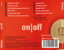 !distain - on/off (CD)