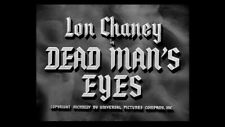 16mm Feature Film DEAD MAN'S EYES 1944 Staring Lon Chaney Jr.