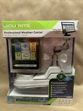 AcuRite 5-in-1 Pro Weather Station With Color Display & PC Connect Model 02064