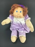 Vintage Cabbage Patch Kids Doll Long Hair Blue Eyes 1980s