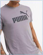 PUMA Essentials T-Shirt Tee Top - Size L XL 2XL - Washed Grey - OZ STOCK!