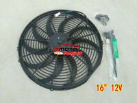 """16"""" 16 inch Universal Electric Radiator COOLING Fan + mounting FOR HOLDEN TOYOTA"""