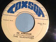 COXSONE RECORDS. Re Arrange / Version . GLADIATORS. ORIGINAL