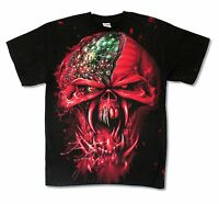 Iron Maiden Final Frontier Face Ed tour All Over Print T Shirt New Official