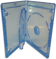 3-Pak VIVA ELITE =Triple= 12.5mm Blu-ray Case w/ Blu-ray & Viva Elite Logo