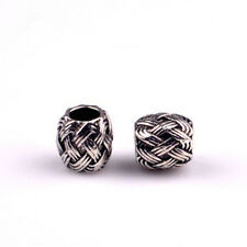 5PCS Charm Alloy  Big Hole Beads fit European Silver Bracelet DIY-033B