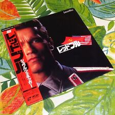 Red Heat 1988 JAPAN LD Laser Disc Movie Laserdisc Arnold Schwarzenegge W/OBI 001