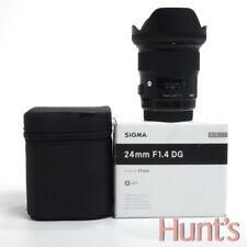 SIGMA ART 24mm f1.4 DG CANON EF MOUNT AUTO FOCUS LENS