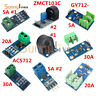 5A 20A 30A Range Current Sensor Module ACS712/GY712/ZMCT103C For Arduino