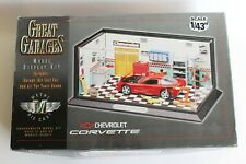 Great Garages Model Display Kit, with 1/43 Scale Corvette by Estes