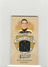 2008-09 Upper Deck Champ's Hall of Legends Sports Memorabilia Phil Esposito