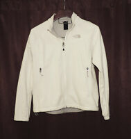 The North Face Women's size L Windwall Off White Fleece Jacket