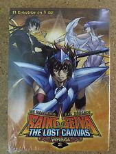 3 DVD Anime Manga Saint Seiya,The lost Canvas 2ª temporada NUEVA