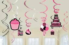 ANOTHER YEAR OF FAB Swirl Decorations Birthday Party Supplies
