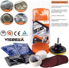 DIY Headlight Lens Restoration Repair Kit Polishing Cleaner Car Bus Truck Lorry