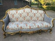 BEAUTIFUL ANTIQUE FRENCH SOFA/LOVE SEAT/SETTEE 1880 LOUIS XVI.WORLDWIDE SHIPPING