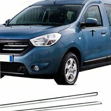 DACIA DOKKER LAV Window Trim Cover S.Steel for 2012-