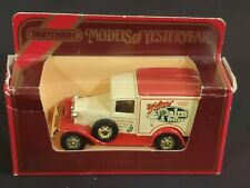 Matchbox Models Of Yesteryear Y22 1930 Ford Model A Van Walter'S Palm Toffee