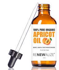 ORGANIC APRICOT KERNEL OIL MOISTURIZER -Skin Massage Oil for Body Hands & Feet