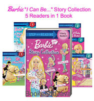Step into Reading Barbie I Can Be... Story Collection 5 in 1 Reader (Paperback)