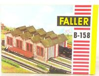 FALLER B-158 HO OO GAUGE BUILDING KIT - DOUBLE TRACK LOCOMOTIVE ENGINE SHED
