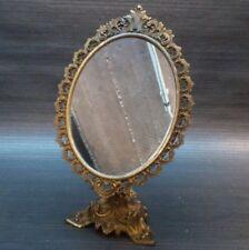 Messing Spiegel, Kosmetik spiegel, Standspiegel, Kosmetikspiegel, Deko spiegel