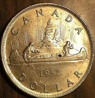 1952 CANADA SILVER DOLLAR COIN - Fantastic example!