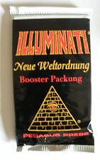"""Illuminati 1 Booster OVP """" Neue Weltordnung"""" limited german/deutsche Edition CCG"""