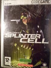 Tom Clancy's Splinter Cell PC Nuevo precintado Clancys aventura en castellano