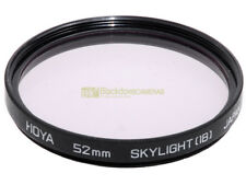 52mm. filtro Skylight 1B HOYA. Sky light filter.