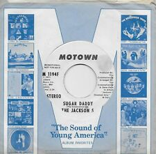 MICHAEL JACKSON  Sugar Daddy  rare promo 45 from 1971  JACKSON 5