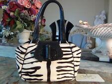 US seller PRADA PONY FUR LEATHER MINI HAND BAG PURSE good usable SMALL