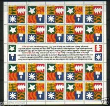 Nederland vel 1628-1629 Decemberzegels 1994 - Postfris