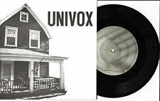 UNIVOX PI  w/ 3 UNRELEASE TRX Limited 7 INCH VINYL 45 ROIR Cannonball Record