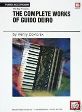 Complete Works for Accordion by Guido Deiro Music Book