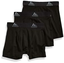 adidas Sport Performance Climalite Boxer Briefs Underwear, Black, Size Large
