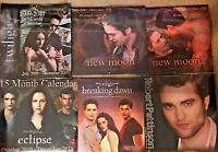 Twilight New Moon Eclipse Breaking Dawn Robert Pattinson Calendar NEW you choose