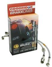 GOODRIDGE 4PC G-Stop Brake Line Kit for 90-91 Honda CRX Si w/Rear Disc 20014