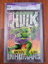 Marvel King Size Incredible Hulk Annual #1 CGC 8.0 Restored 1968 Jim Steranko