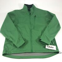 Cabelas Women's Full Zip Green Kiowa Creek Jacket Size Medium NWT MSRP $79