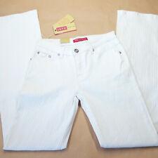 Pantalone taglia  44 donna jeans JOYX bianco cotone bootcut  RP € 90