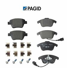 NEW VW Passat 12-14 Set of Front and Rear Brake Pads Pagid 355014021 / 355014031