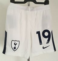 TOTTENHAM HOTSPUR  2017/18 WHITE SHORTS N0.19 BY NIKE AGE 8-10 YEARS BRAND NEW