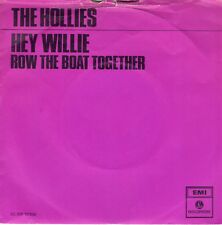 7inch THE HOLLIES hey willie PURPLE COVER HOLLAND EX/VG++  (S0789)