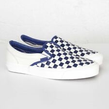 a5b59aed5fd507 Vans OG Classic Slip-On LX VUDFIM0 (Woven Leather) 50th Checker Men Size