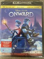 Disney Pixar Onward (4K Ultra HD + Blu-ray + Digital; 2020) Sealed Brand New!