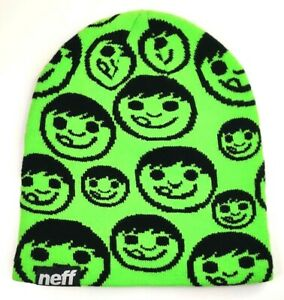 Neff Green Repeater Unisex Knit Hat Beanie One Size, Free Shipping