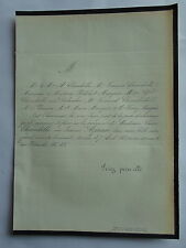 Veuve CHAMBOLLE née AZMAN 1861 PHILIBERT MARQUIS,DEBACKER,PLANCON