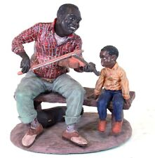 Vintage Duncan Royale The Early American Ebony Series Fiddler Man #1676/5000