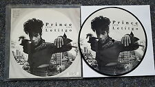 "Prince-letitgo 7"" Single Picture Disc"